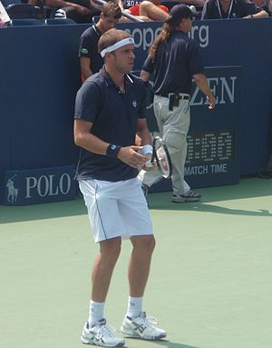 Gilles Müller - Müller at the 2011 US Open