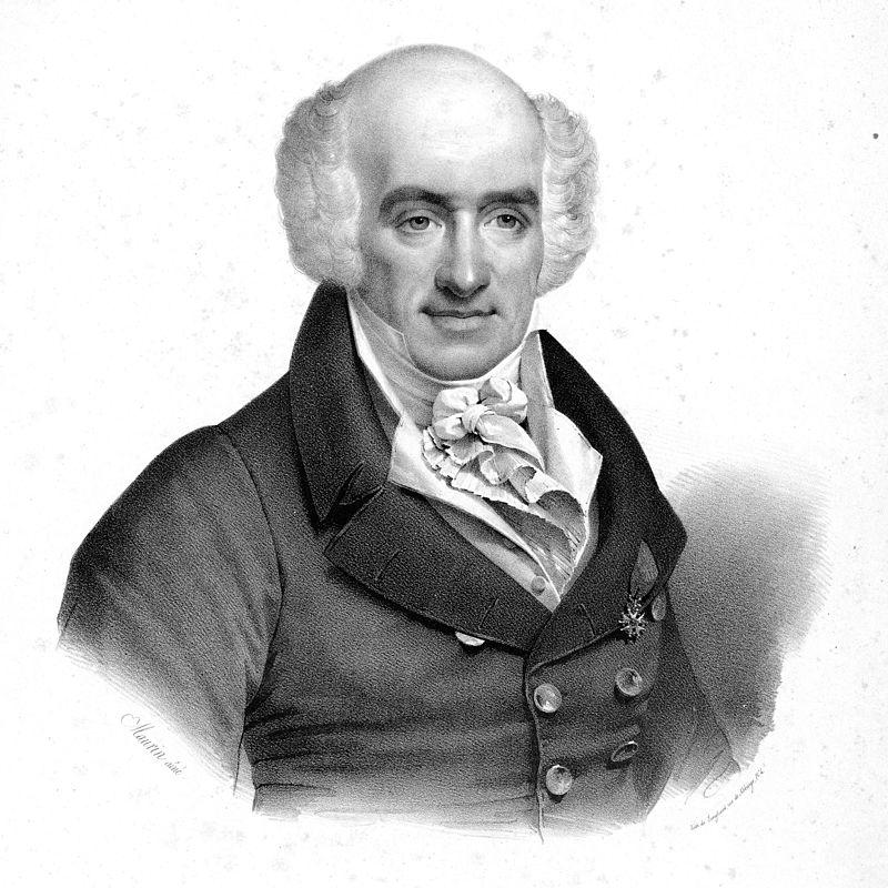 O compositor y vriolinista italián Giovanni Battista Viotti, en una litografía d'Antoine Maurin.