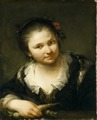 Girl with Vegetables (Giuseppe Nogari) - Nationalmuseum - 17063.tif