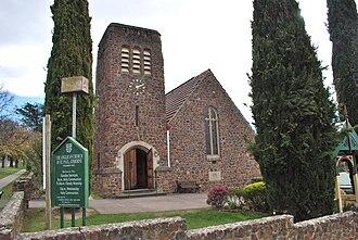 Gisborne, Victoria - St Paul's Anglican church in Gisborne
