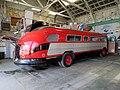 Glacier National Park Transportation 77 at Pacific Bus Museum. April 2018. April 2018.JPG