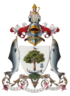 Old Glasgow Coat of Arms (1866 version).