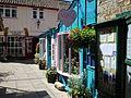 Glastonebury - Altstadt, stiller Winkel.jpg