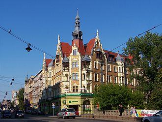 Gliwice - Image: Gliwice Ul. Zwycięstwa Hotel Diament 01