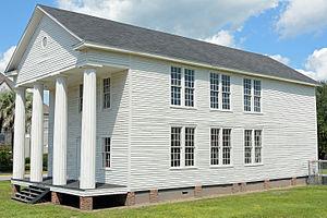 Glynn Academy - The 1840 building
