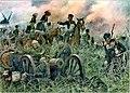 Gneisenau at the Battle of Ligny, by Richard Knötel.jpg