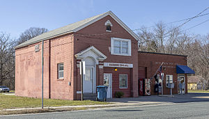 Goldsboro, Maryland - The Goldsboro town hall and post office in 2016