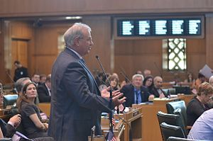 David Gomberg - Addressing the Oregon House in 2014