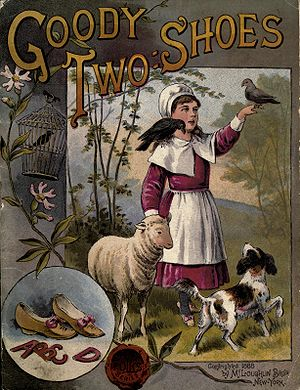 The History of Little Goody Two-Shoes - The cover of the 1888 edition of Goody Two-Shoes