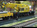 Gottwald Railway Telescopic Crane GS 100.06T DB Bahnbau Kibri 16000 Modelismo Ferroviario Model Trains Modelleisenbahn modelisme ferroviaire ferromodelismo (14233619177).jpg