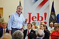 Governor of Florida Jeb Bush at TurboCam, Barrington, NH on August 33th by Michael Vadon.jpg