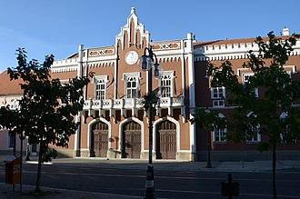 Vršac - Image: Gradska kuća u Vršcu