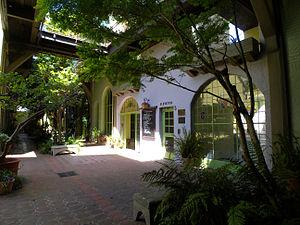 Granada Shoppes and Studios - The Granada Buildings courtyard