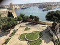 Grand Harbour view with Floriana garden in foreground.jpg