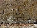 Grandris - Inscription 1826 croix calvaire (mars 2019).jpg