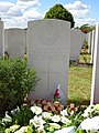 Grave of Francis Ledwidge at Artillery Wood Cemetary 01.jpg