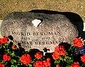 Grave of Ingmar Bergman ~ Fårö, Gotland.jpg