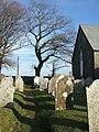 Graveyard,Trevadlock Cross Chapel - geograph.org.uk - 638448.jpg