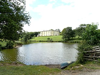 Great Fulford - Great Fulford House in 2015, view from south-east