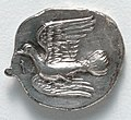 Greece, Peloponnesus, 4th century BC - Drachma- Flying Dove (reverse) - 1917.979.b - Cleveland Museum of Art.jpg