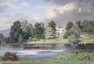 Greenlands - Painting of Greenlands about 1869