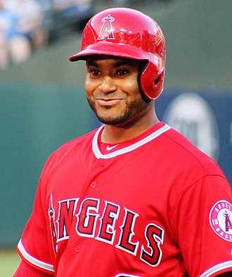 Gregorio Petit - Petit with the Los Angeles Angels of Anaheim