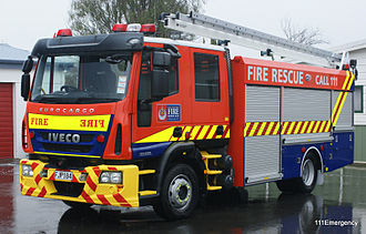 Fire and Emergency New Zealand - Image: Greytown 647