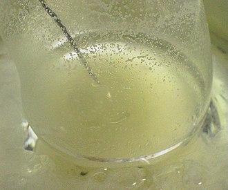 Grignard reaction - Image: Grignard reaction experiment 07