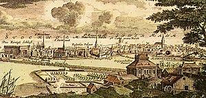1700 in Sweden - Gripenhielmska malmgården 1700