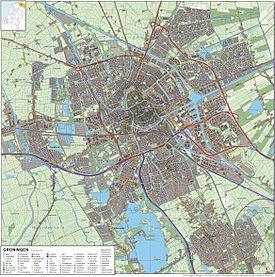 Groningen-topografie