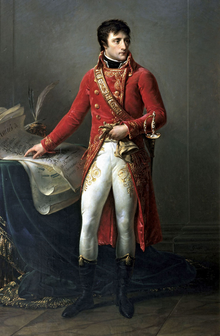 Gros' 1802 painting that inspired Ingres Gros - First Consul Bonaparte.png