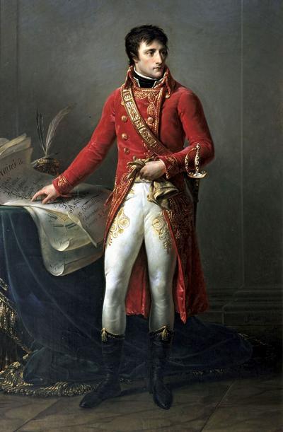 Napoleón como Primer Cónsul, por Antoine-Jean Gros (1802).