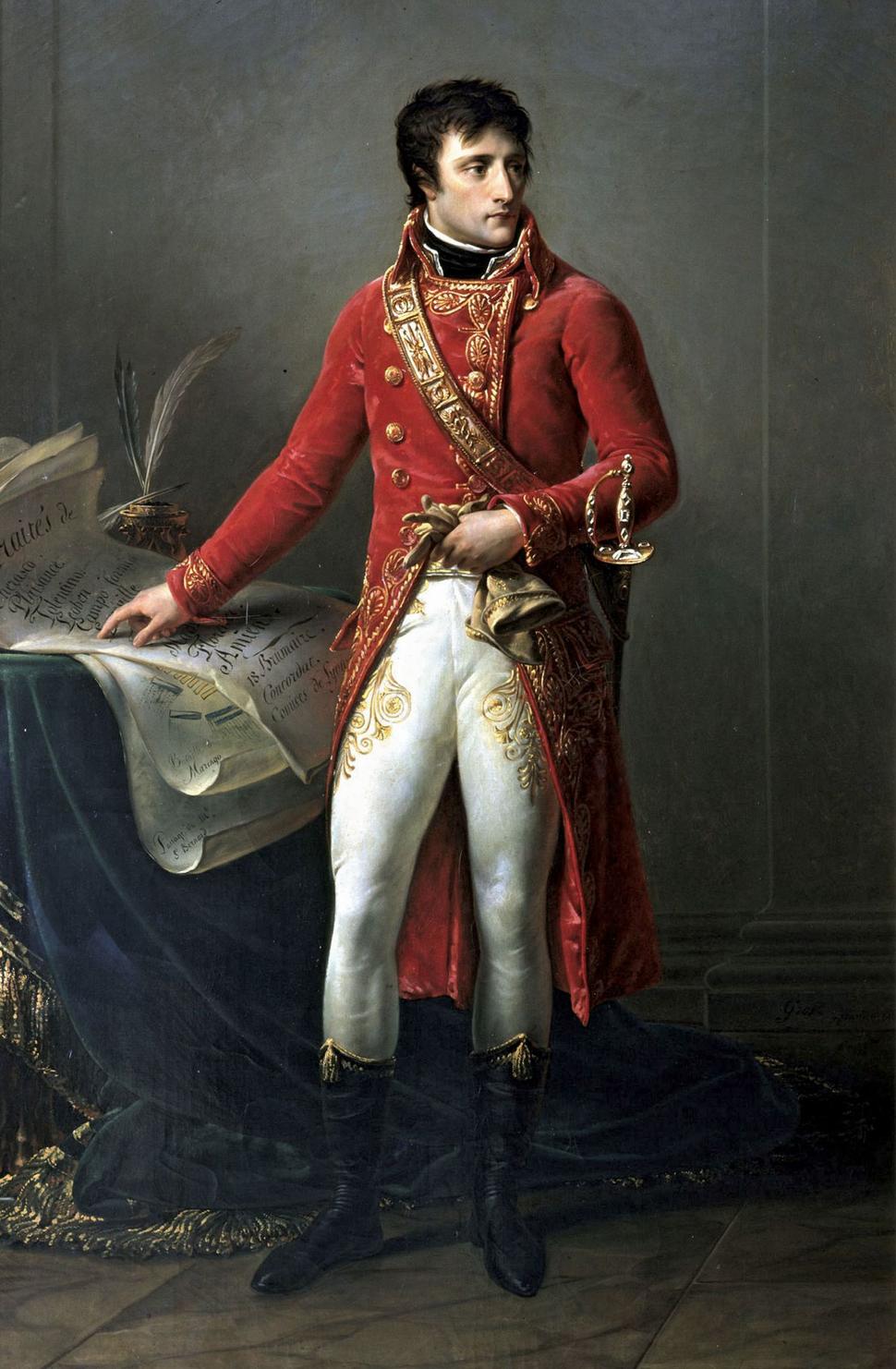Gros - First Consul Bonaparte