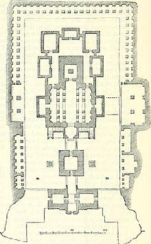 Ground plan of the templeKailasa temple  Ellora   Wikipedia. Indian Temple Architecture Pdf. Home Design Ideas