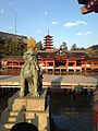Guardian Lion of Itsukushima Shrine 1.jpg