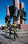 Guards at Memorial Square (Novy Urengoy).jpg