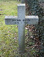 GuentherZ 2013-01-12 0397 Wien11 Zentralfriedhof Gruppe88 Soldatenfriedhof polnisch WK2 Grabkreuz Michal Rusek.JPG