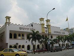 A Gurdwara in Johor Bahru.