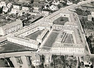 Gurrevejsstiftelsen - Aerual of Gurrevejsstiftelsen in the 1960s