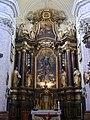 Györ Karmeliterkirche Innen Hochaltar 2.JPG