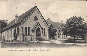 Racine College - Gymnasium of Racine College