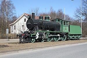 Riihimäki - Image: Höyryveturi Hv 1 nro 554 IM6229 C