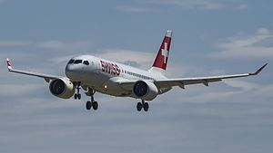 Swiss International Air Lines - SWISS Bombardier CS100 in the current livery