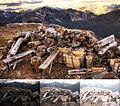 HDR image + 3 source pictures (Cerro Tronador, Argentina).jpg