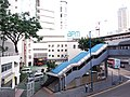 HK 觀塘 Kwun Tong 開源道 Hoi Yuen Road MTR exit footbridge view October 2018 SSG 12.jpg