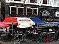 HK Beach Villa 90 Stanley Main Street sidewalk restaurant Nov-2012.JPG