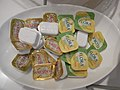 HK CWB 富豪香港酒店 Regal Hong Kong Hotel Buffet President Flora butter packs Aug-2010.JPG