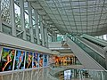HK Central IFC mall interior ceiling n Escalators May 2013.JPG
