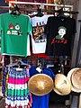 HK Stanley New Street market shop clothing T-shirts Obama Nov-2012.JPG