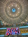 HK Tsuen Wan Plaza 荃灣廣場 mall Void ceiling May-2013 TV set.JPG